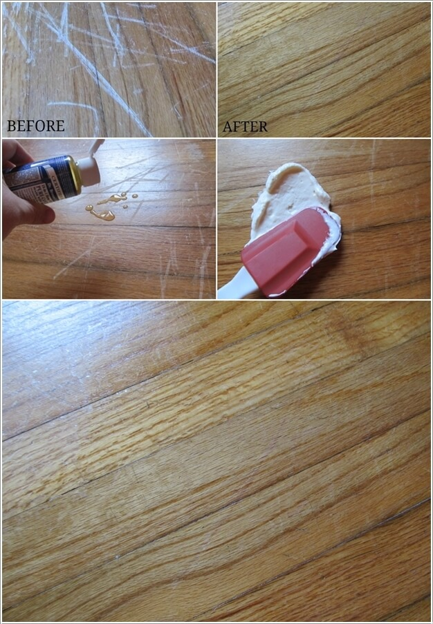 Clever Wood Floor Hacks