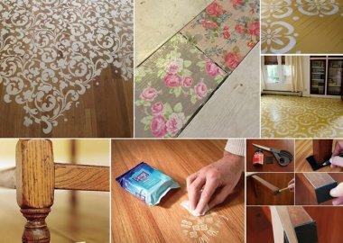 Clever Wood Floor Hacks fi