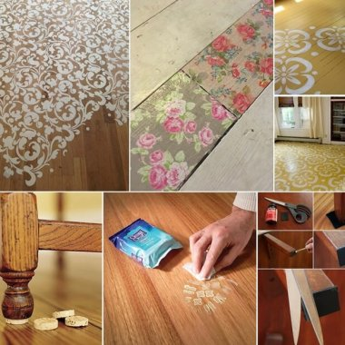 Clever Wood Floor Hacks fi