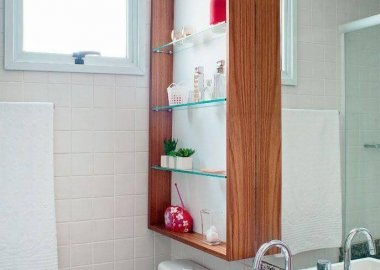 Decorate You Home with Glass Shelves fi