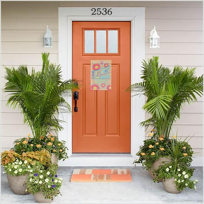 Front Door Plants Best 25 Ideas On Pinterest