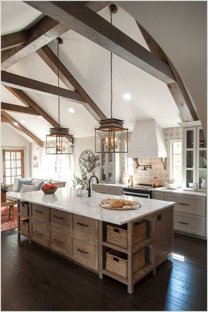 Awesome Rustic Kitchen Decor Remodelling