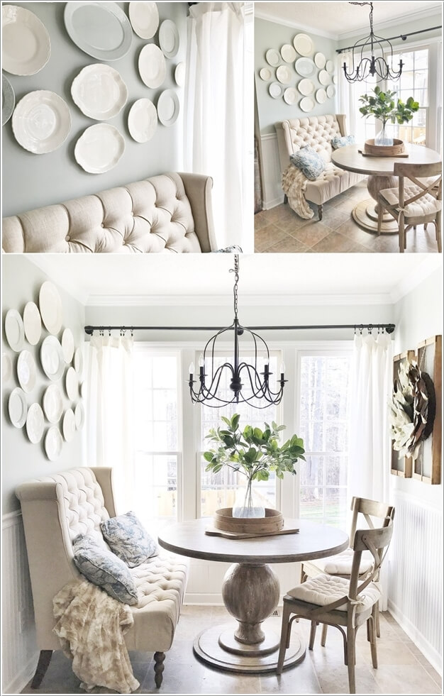 Diy Dining Room Wall Decor Bring The To Life With Vintage China