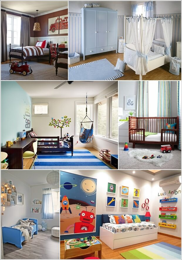 Toddler Boy Room Ideas: 20 Cute Toddler Boy Bedroom Ideas