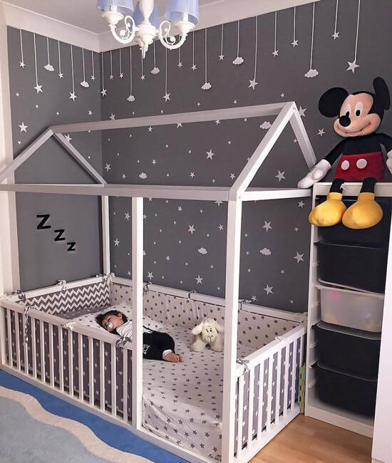 20 cute toddler boy bedroom ideas. Black Bedroom Furniture Sets. Home Design Ideas