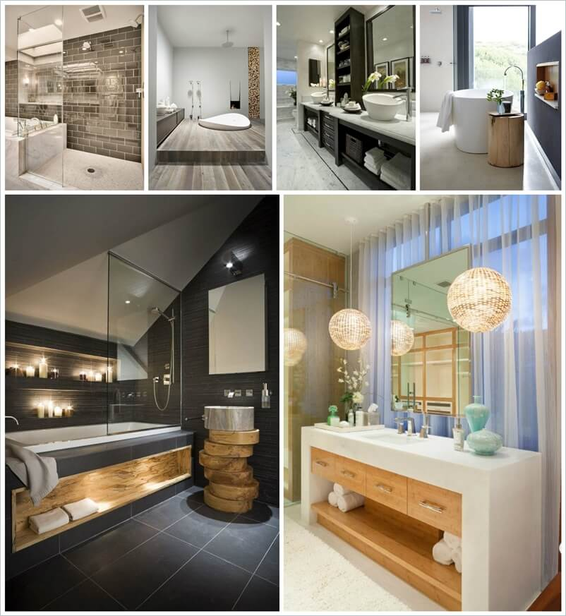 Bathroom Remodel Ideas To Inspire You: 30 Awe-Inspiring Contemporary Bathroom Designs