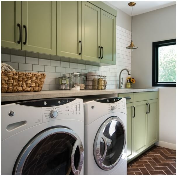 Rooms: Amazing Laundry Room Color Combinations