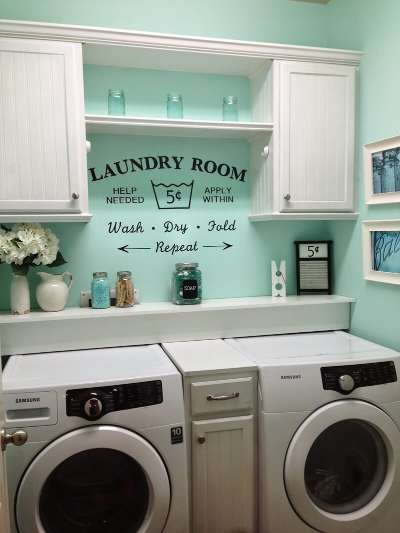 Amazing Laundry Room Color Combinations