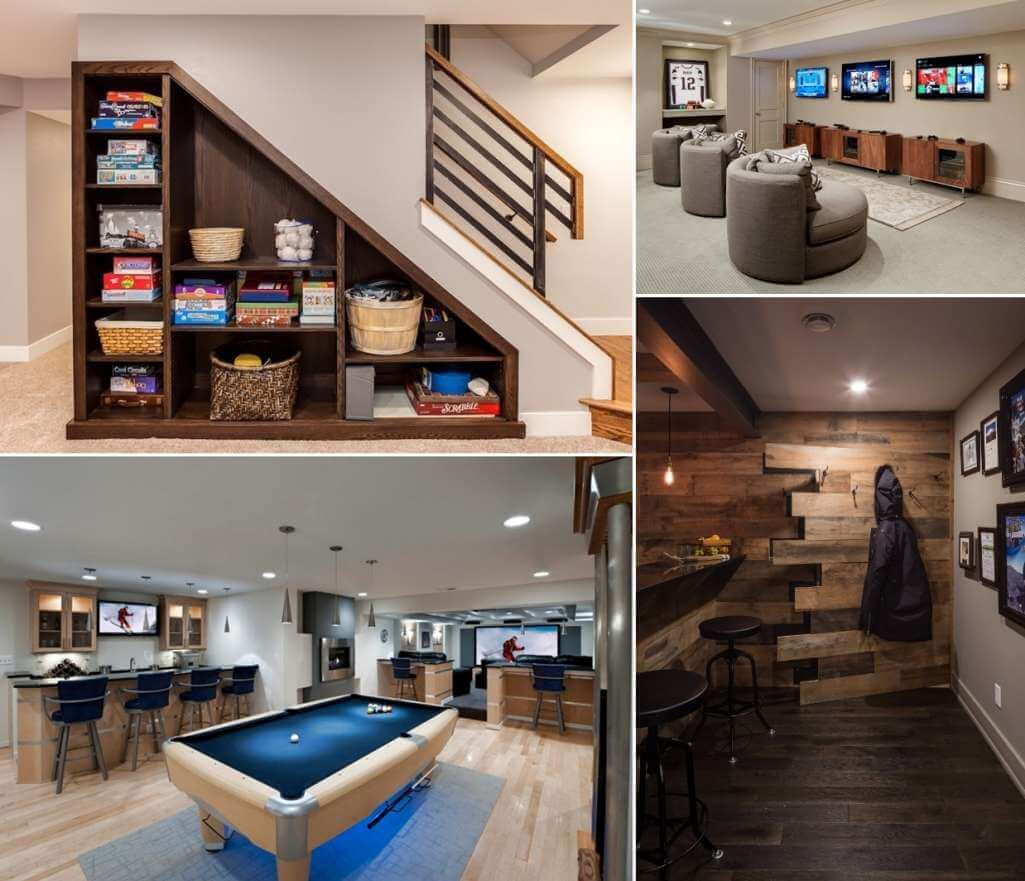 Amazing Interior Design Ideas For Home: Cool Things To Put In A Basement