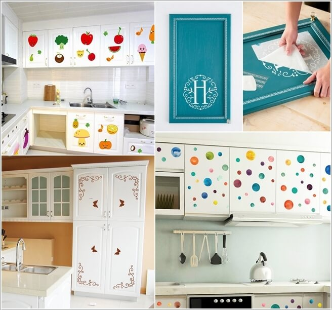 Ideas To Decorate A Kitchen With Decals