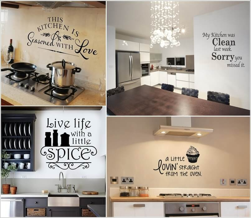 Paste A Quote Decal For Adding Some Humor Or Inspiration