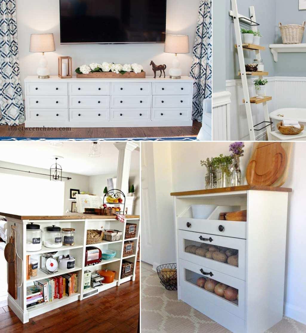 21 Farmhouse Style Ikea Hacks