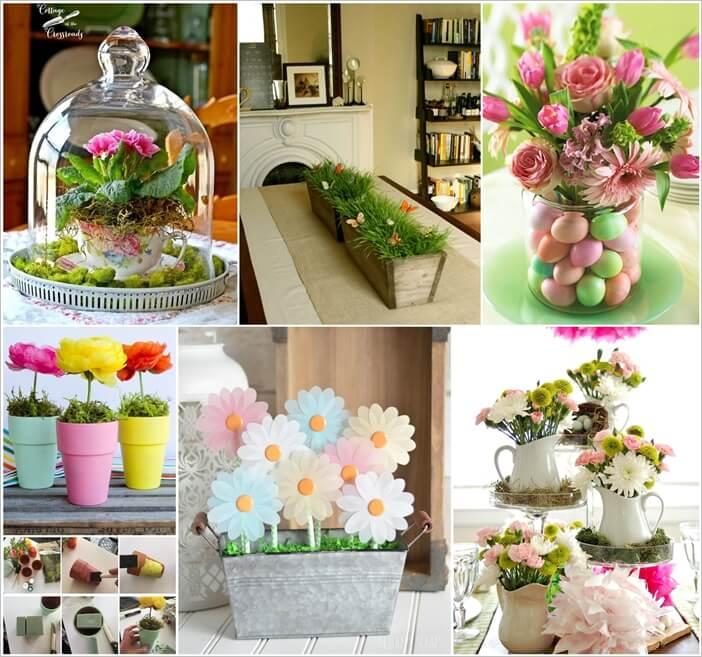 Cheerful Spring Centerpiece Ideas