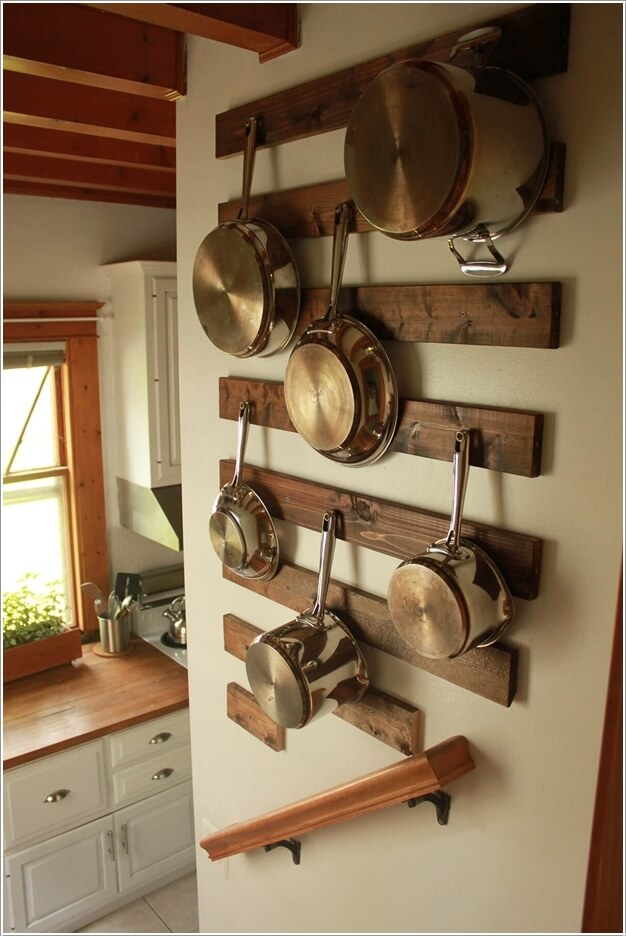 Clever Ideas To Store Pots And Pans