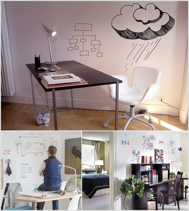 2. A Wall Can Be Turned Into A Huge Whiteboard With ReMARKable Dry Erase  Paint