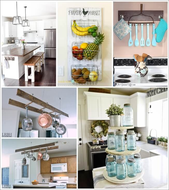 Diy farmhouse kitchen decor projects