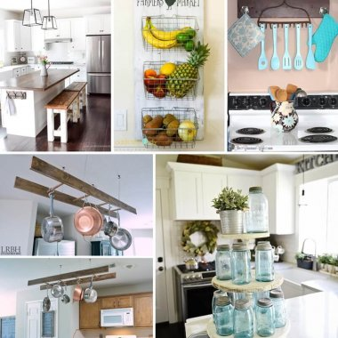 diy farmhouse kitchen decor projects - Diy Design Ideas