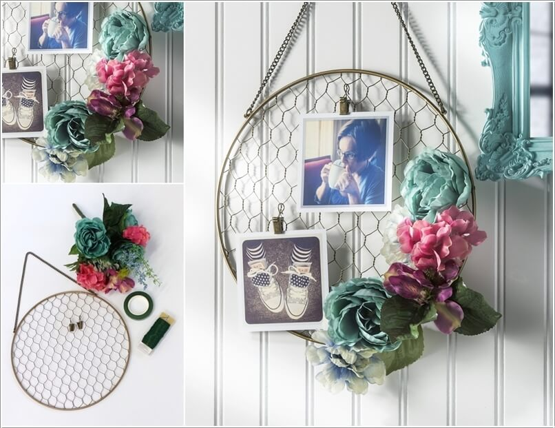 Create DIY Home Decor Projects with Faux Flowers