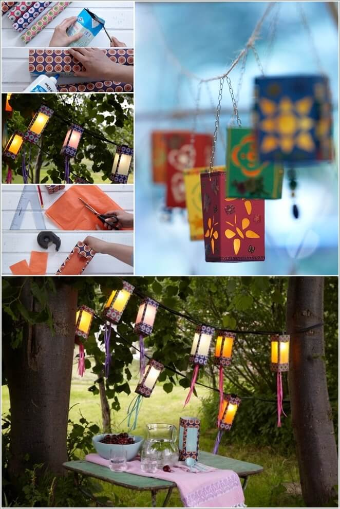 Welcome Spring With These Diy Outdoor Lanterns