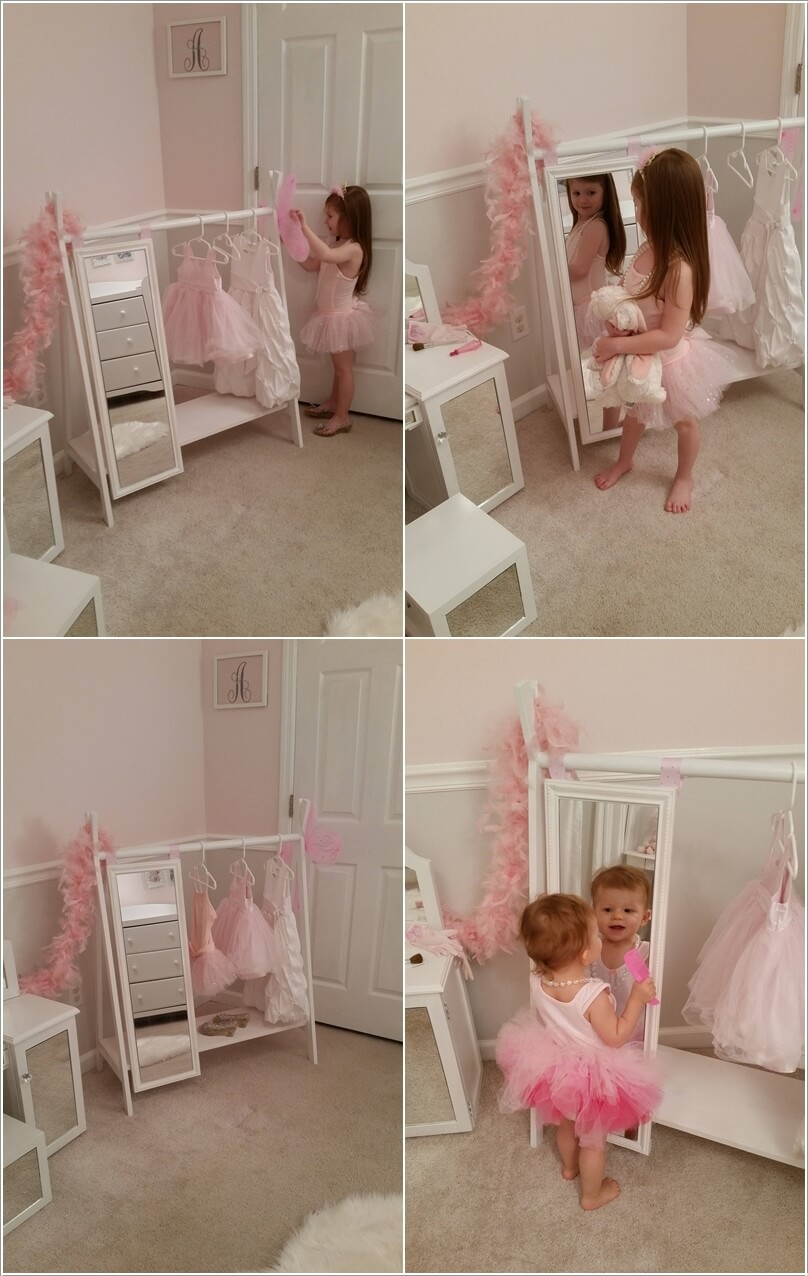 Cute Dress Up Station Ideas For Your Princess