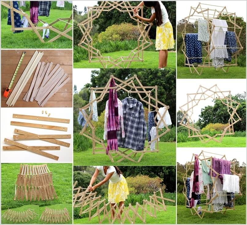 Clever And Cool Drying Rack Ideas Architecture World
