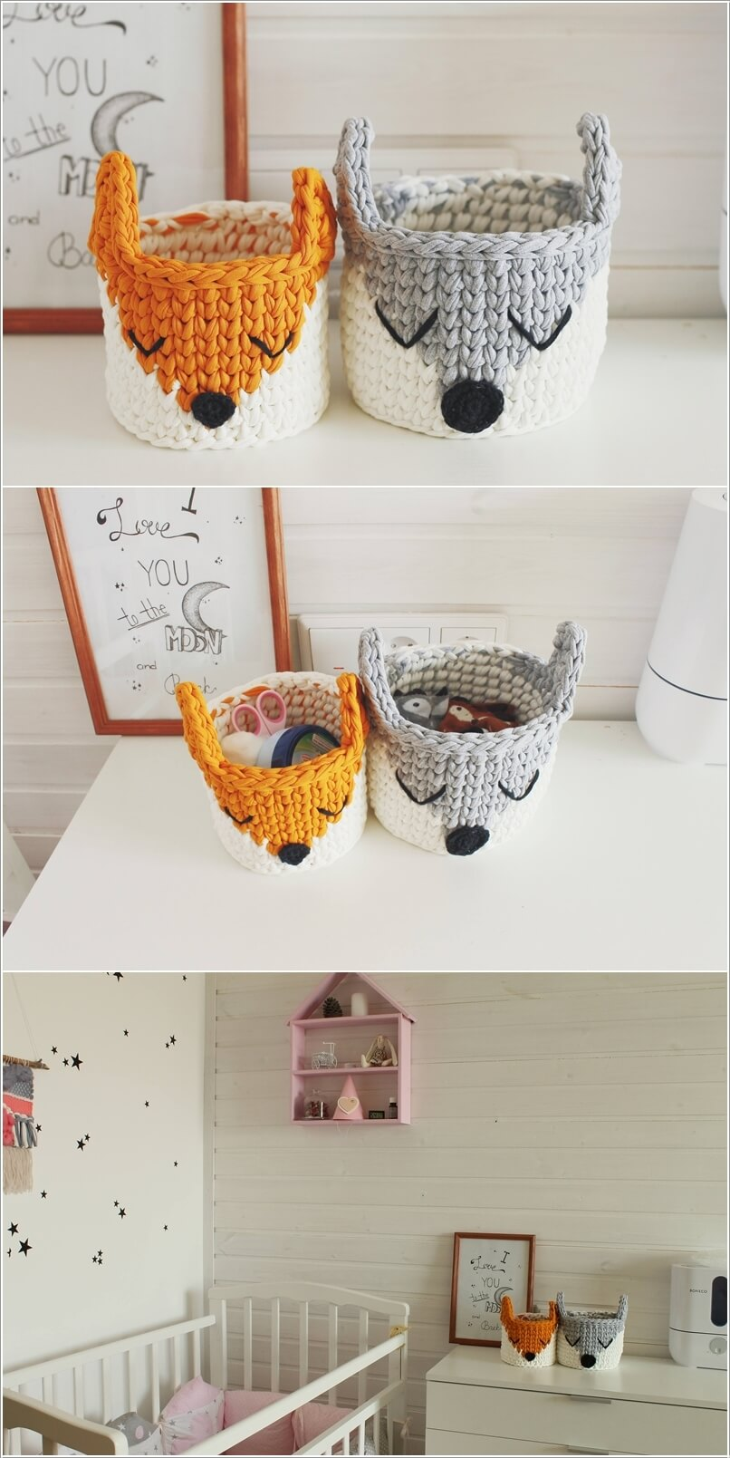 Cute Ideas To Decorate A Kids Room With Crochet