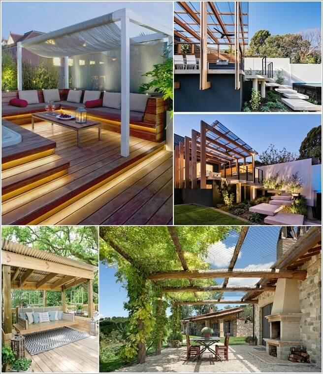 If You Have A Pergola In The Outdoor Part Of Your Home Then Must Know That With Changing Seasons Sometimes Need To Some Shade On