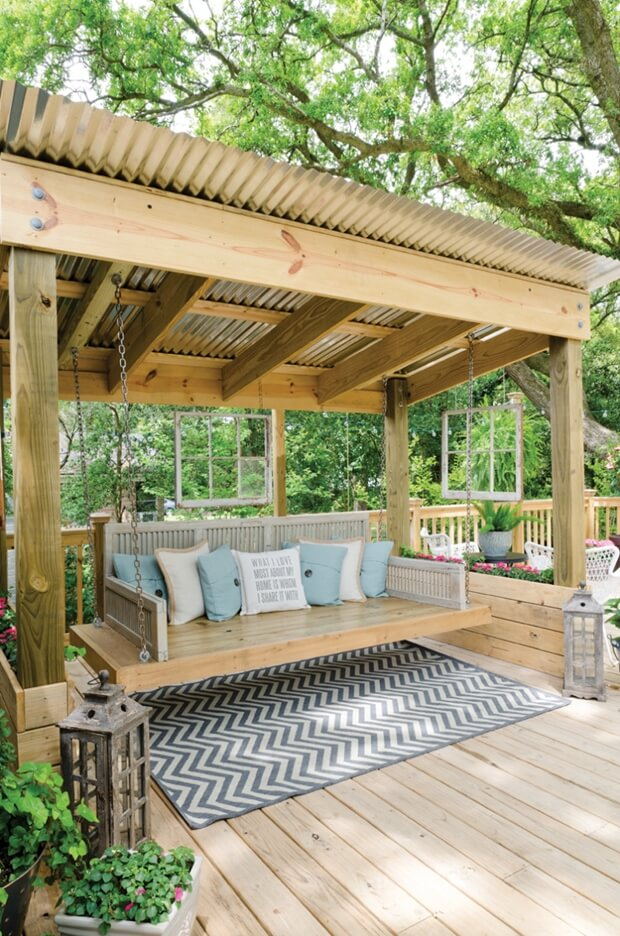 - Pergola Roofing Ideas For Your Home's Outdoor