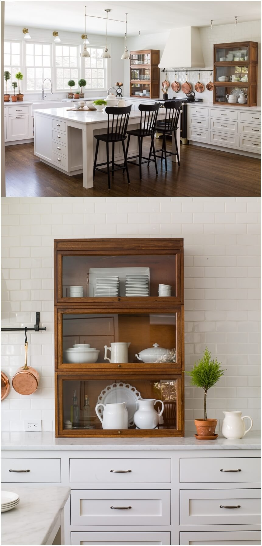 10 Ways To Re Purpose A Bookcase For Kitchen