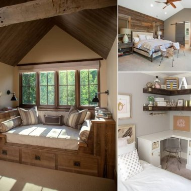 Decorate Your Bedroom With Reclaimed Wood For A Rustic Charm