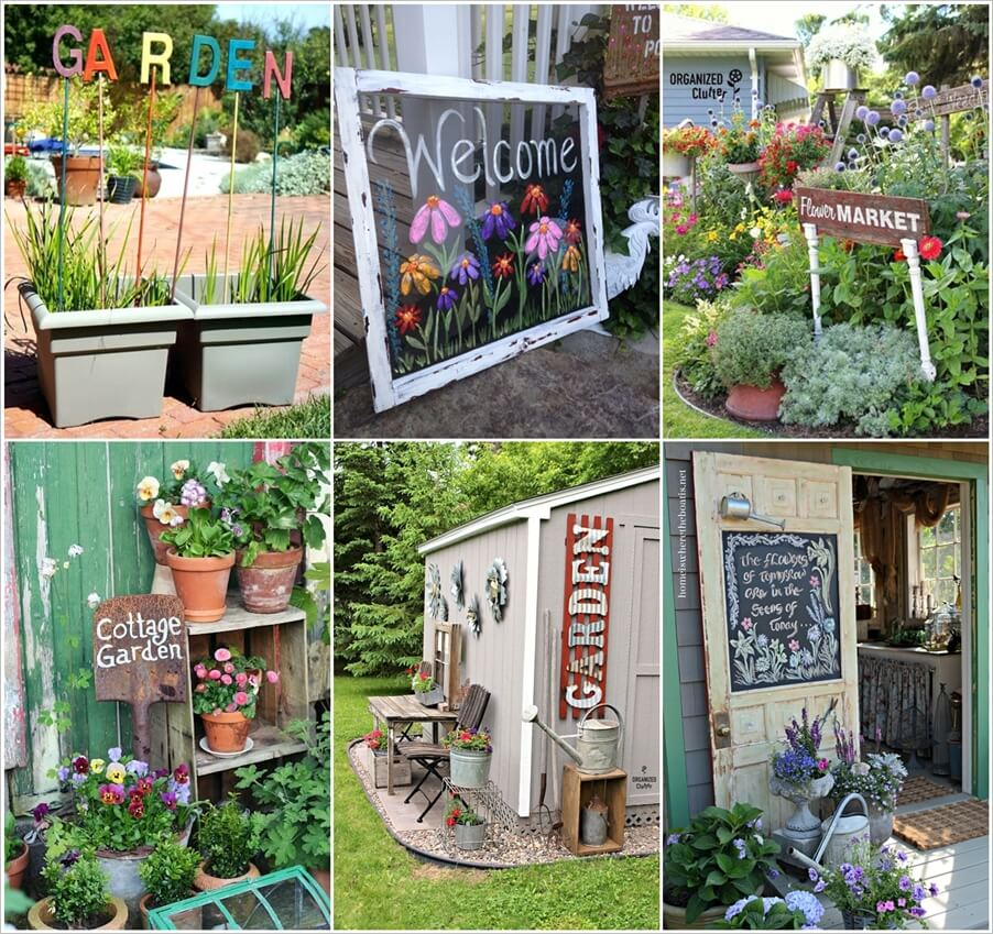 Try Out These Diy Garden Sign Ideas