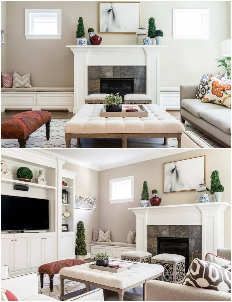Beautify Your Living Room with Built-ins
