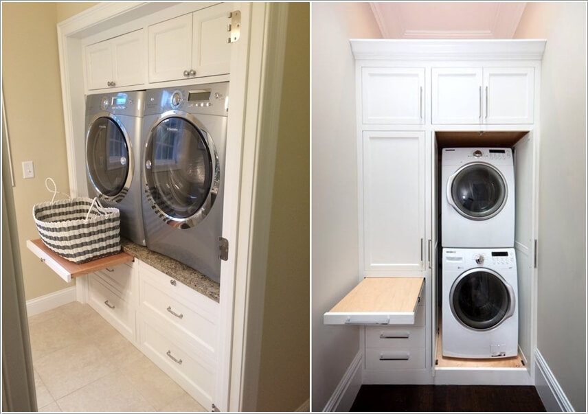 4. Build Cabinets And Drawers Around The Appliances In Any Outlook That  Suits You The Best