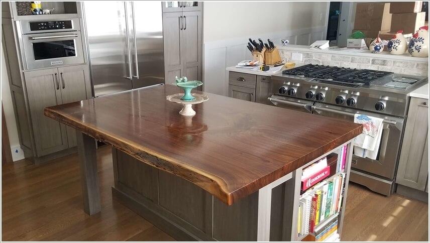 captivating country kitchen decor   Captivating Kitchen Island Countertop Materials