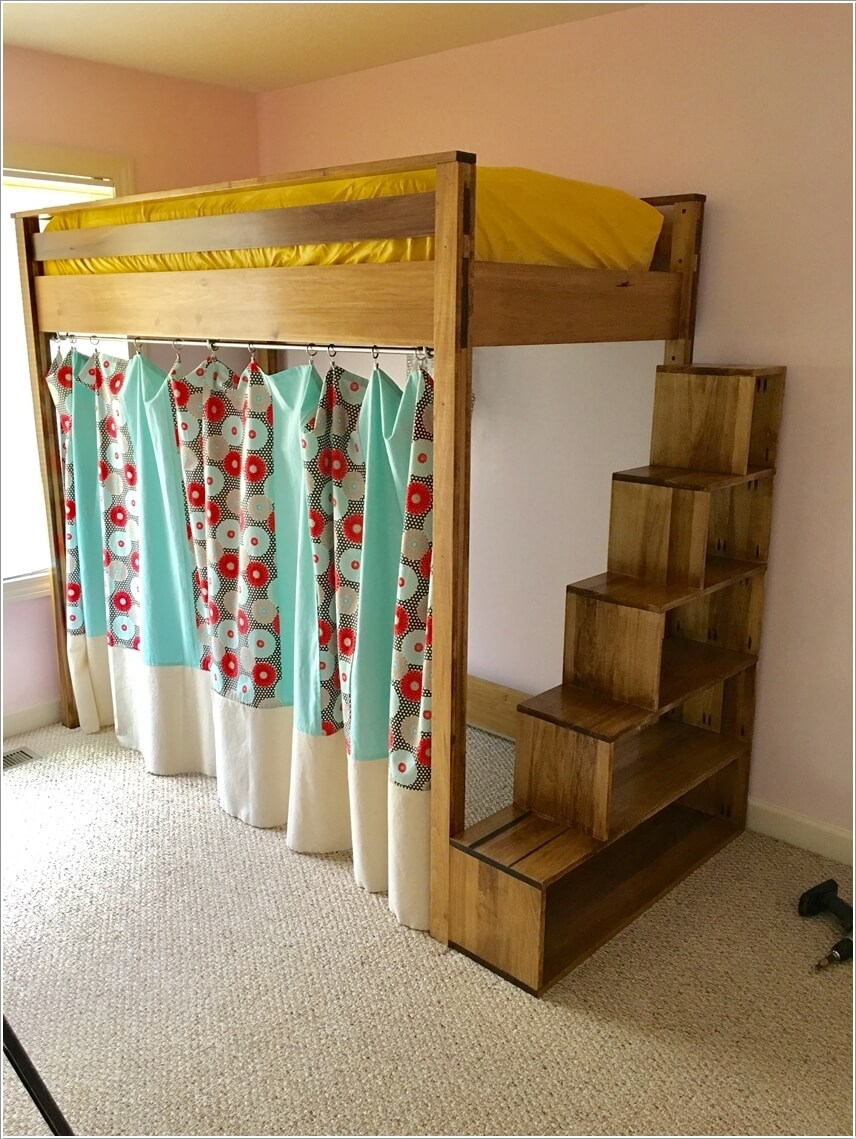 Picture of: 10 Diy Loft Beds That Save Space