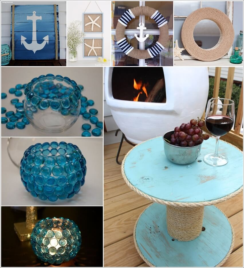 Diy Nautical Decor Ideas: DIY Nautical Decor Ideas You Can Try