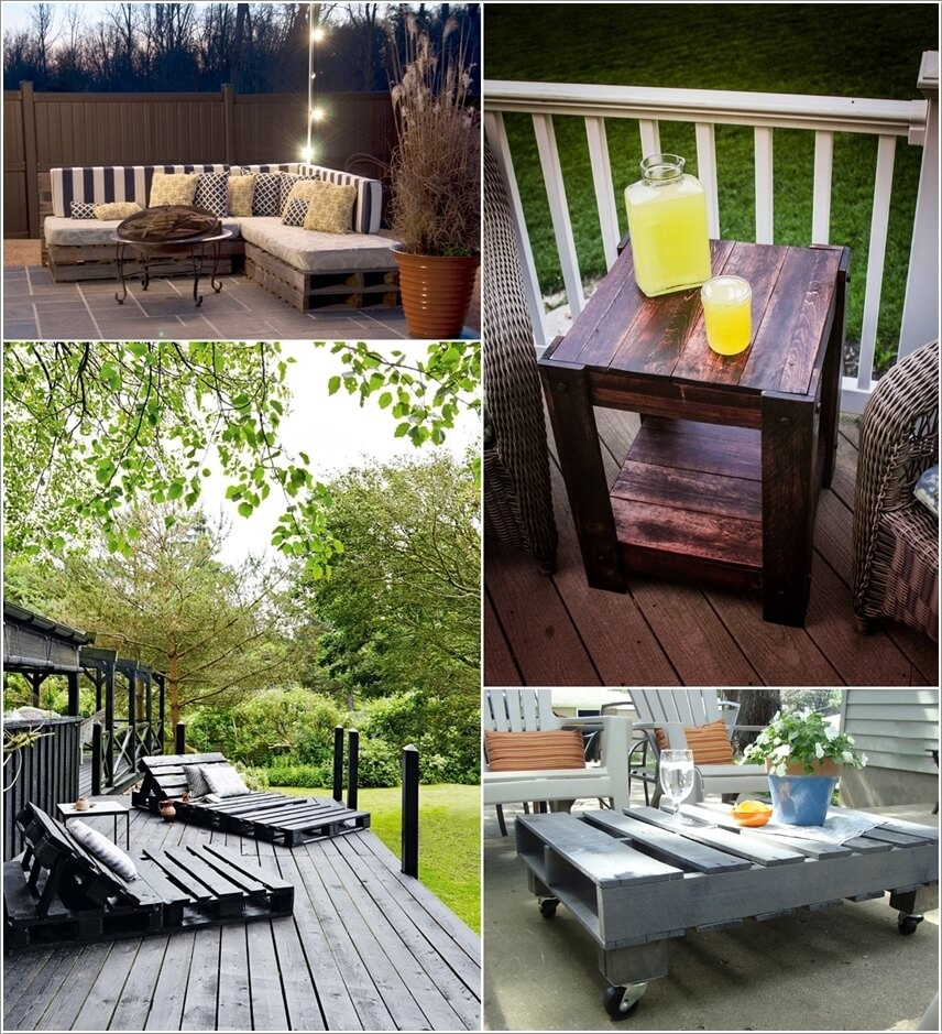 5 Amazing Interior Landscaping Ideas To Liven Up Your Home: 10 DIY Outdoor Pallet Furniture Ideas