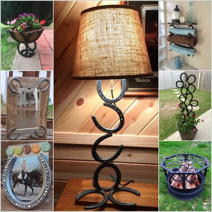 20 Recycling Ideas For Home Decor: Cool Ideas To Recycle Horseshoes For Home Decor