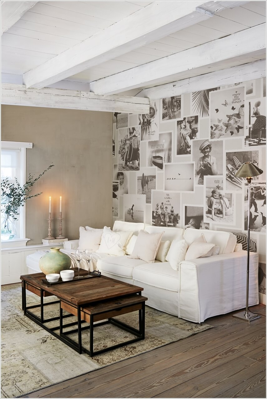 10 Creative Living Room Feature Wall Ideas on Creative Wall Ideas  id=25046