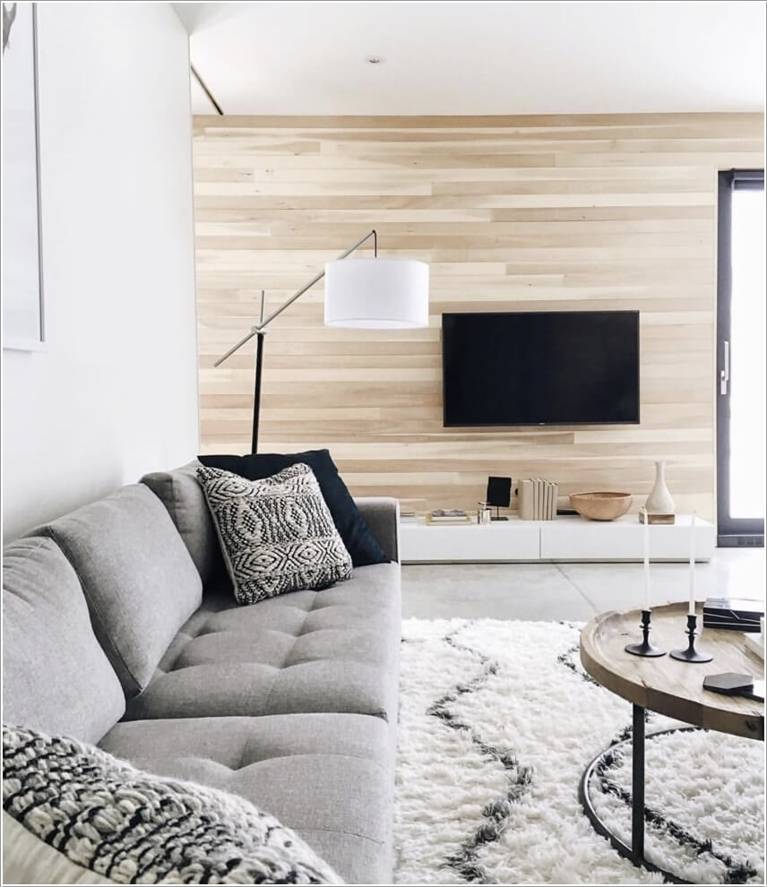 Decorating Ideas Unique Living Rooms: 10 Creative Living Room Feature Wall Ideas