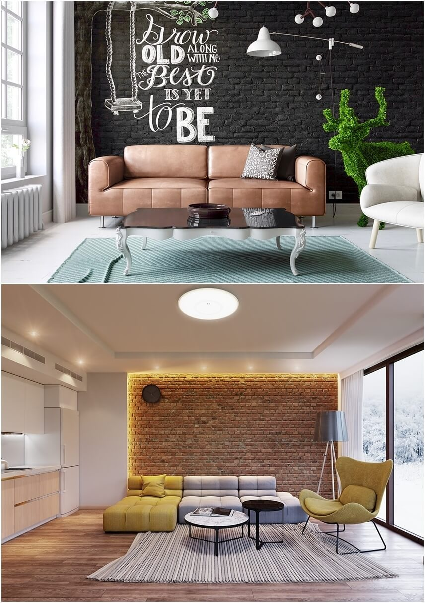 Living Room Feature Wall Decor: 10 Creative Living Room Feature Wall Ideas