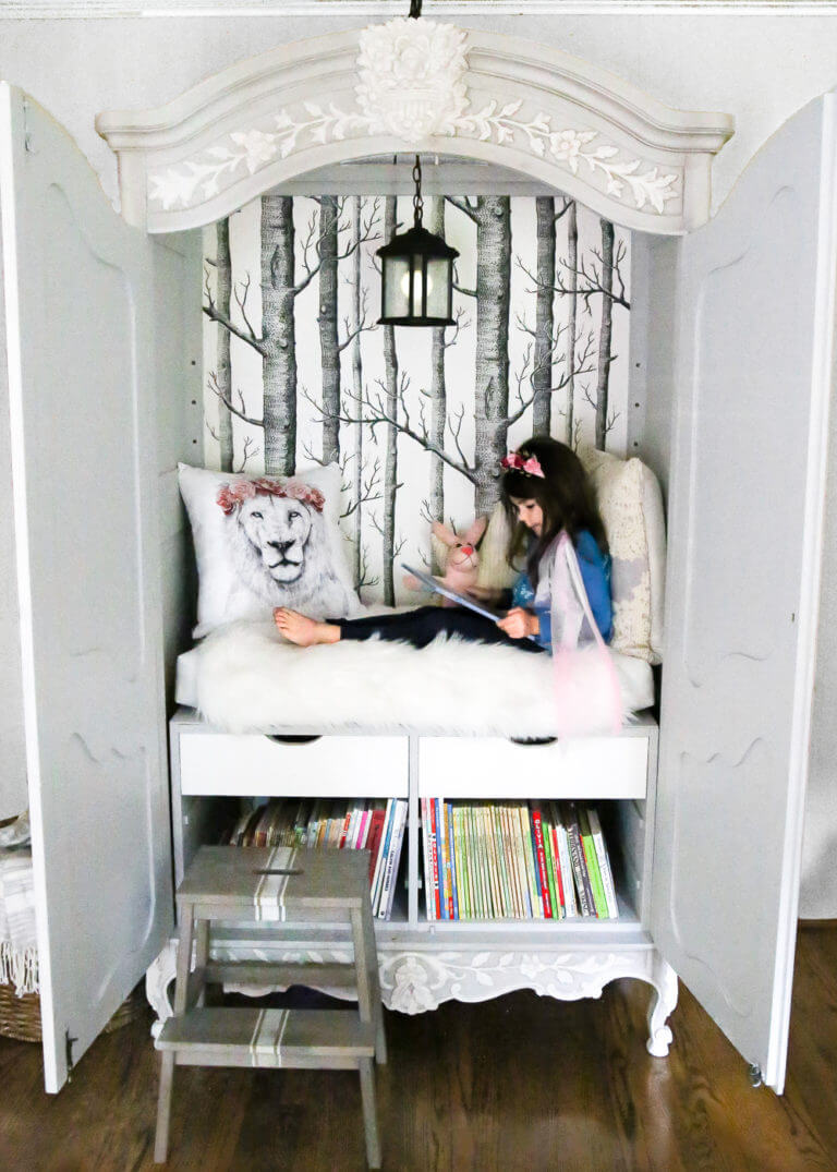 10 Unique Ways To Design A Kids Reading Nook
