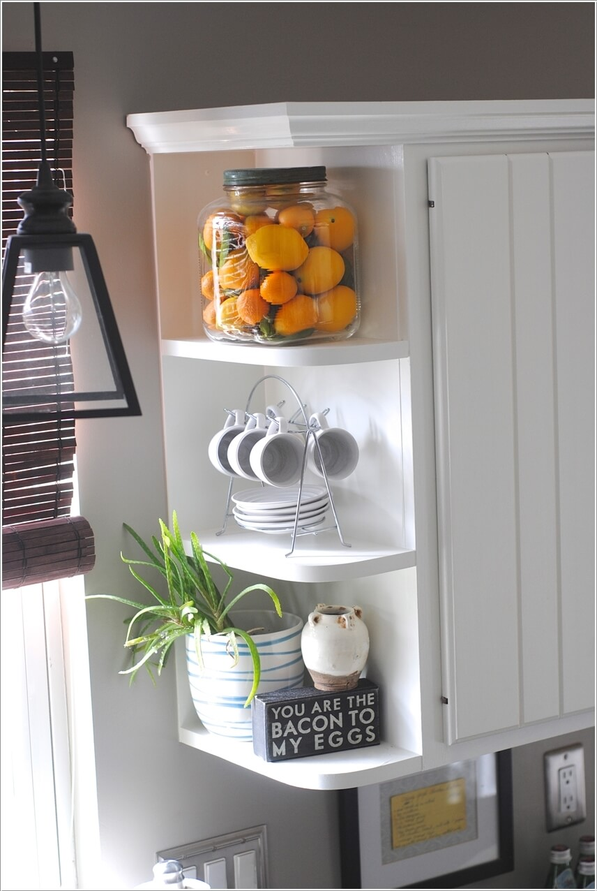 Clever Kitchen End of Cabinet Storage Ideas