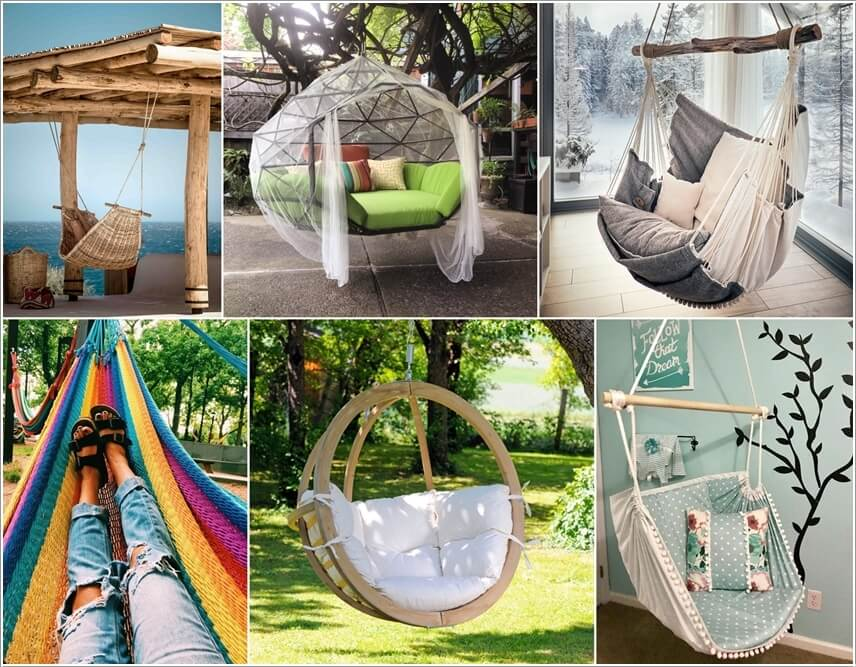 Cozy Up Your Home With Hammocks