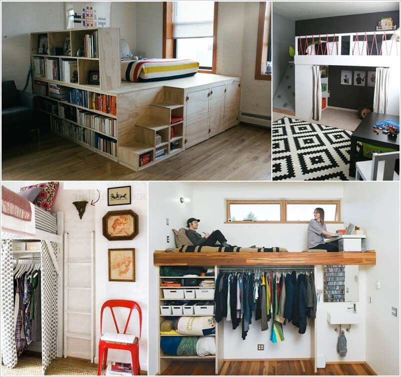 Modern Loft Bed Designs - Loft-bedrooms-designs