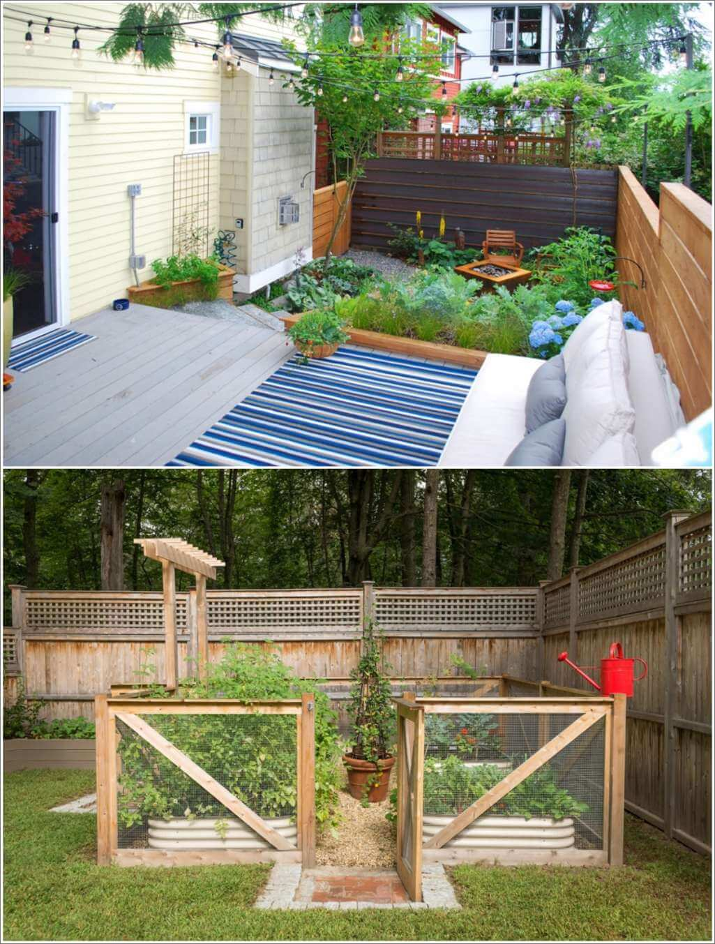 Smart And Small Kitchen Gardens