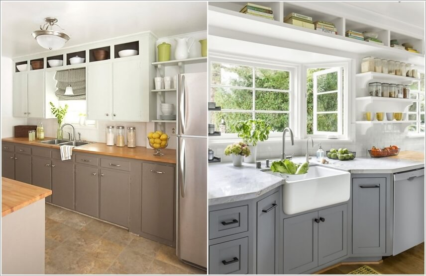 Utilize The Space Above The Kitchen Cabinets