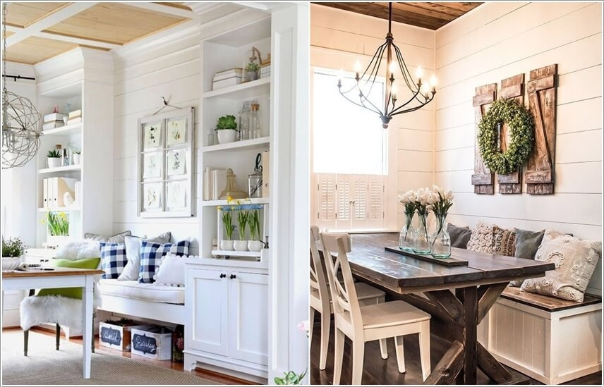Breakfast Nook Wall Decor Ideas
