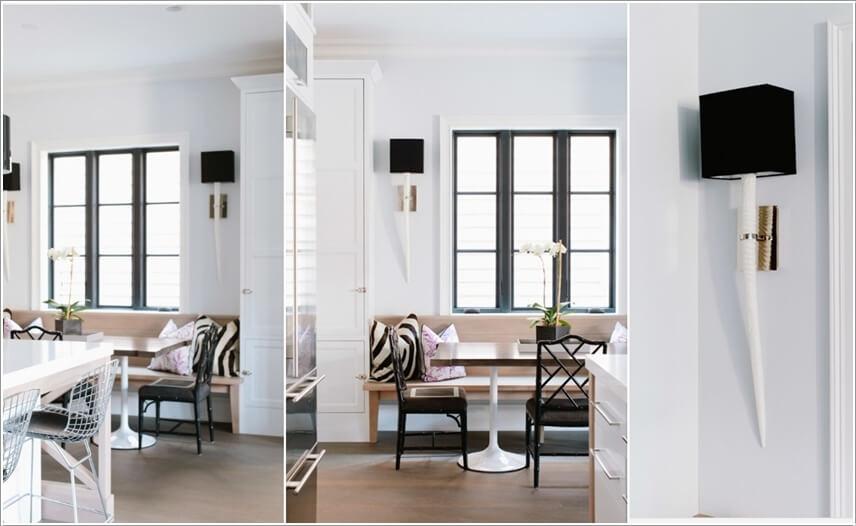 Breakfast Nook Wall Decor Ideas