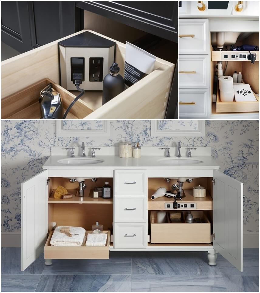 10 Clever Hidden Bathroom Storage Ideas
